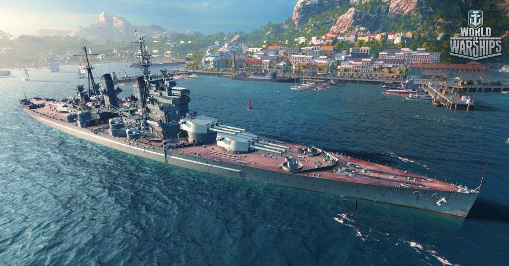 World of Warships navire britannique
