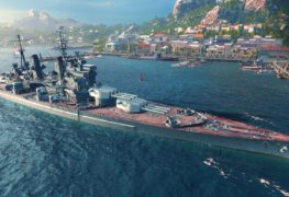 World of Warships navire britannique